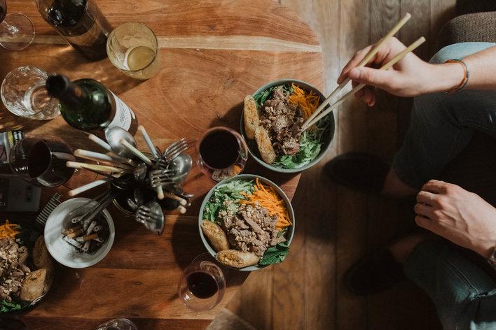 Atelier de cuisine asiatique chez anne