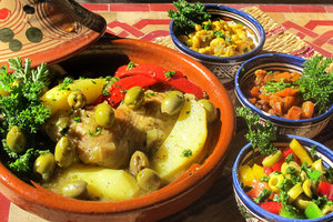 Eat with locals: Poulet baldi