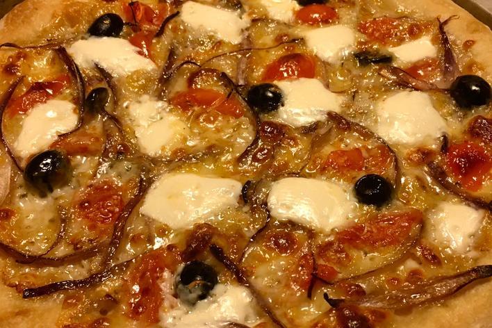 La vraie pizza à la maison