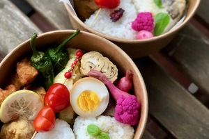 Eat with locals: Japanese bento cooking lesson