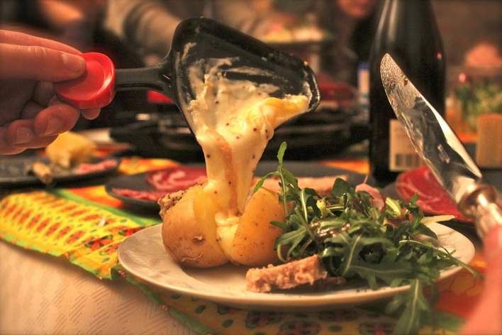 Une raclette made in paris!