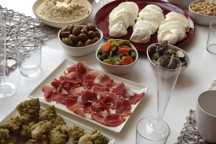 Italian fusion dinner