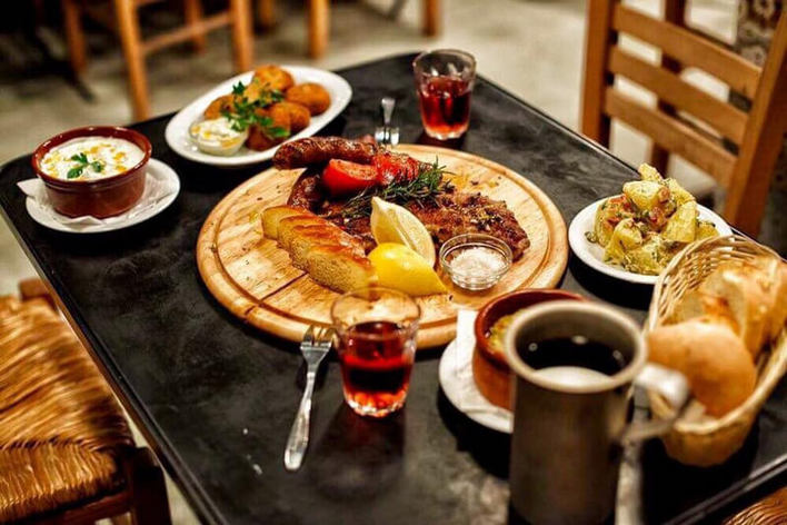 Food tour and full lunch in a traditional restaurant in kalamata, greece
