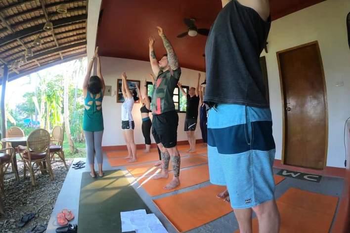 Yoga brunch puerto galera