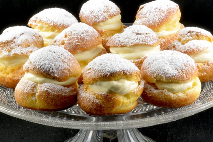 Lasagnes fraîche a la bolognaise maison et choux a la vanille