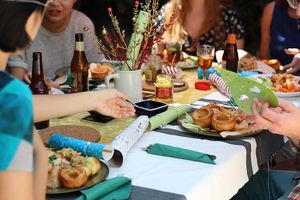 Cenas particulares como en su propia casa: De la bonne humeur et du goût à partager