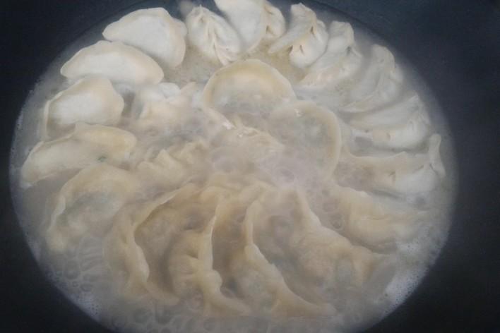 Ravioli  chinois fait maison