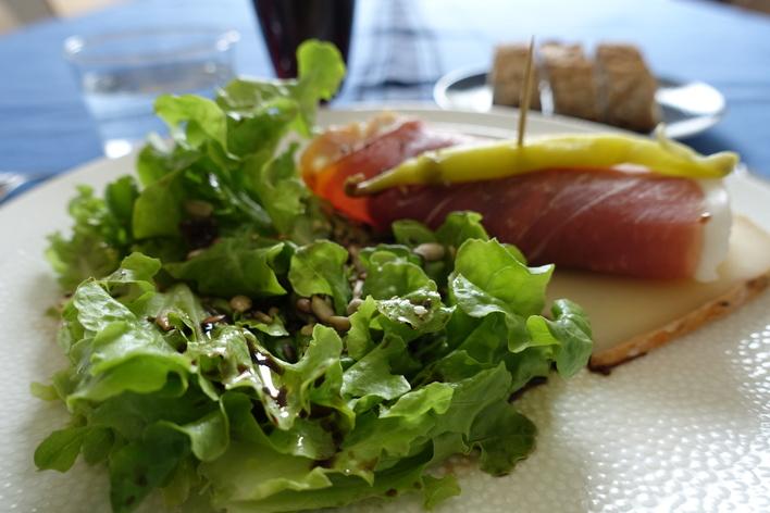 La cuisine de  mamiline autour de produits du pays basque