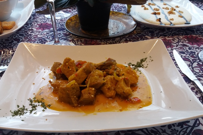 Traditional food with fresh flavors