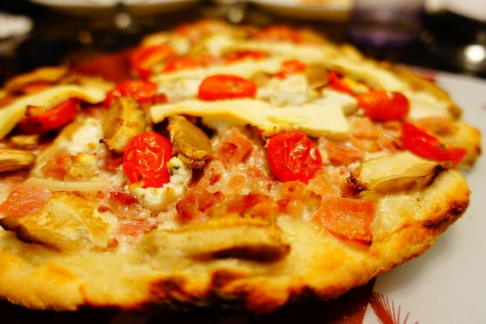 Pizzas party