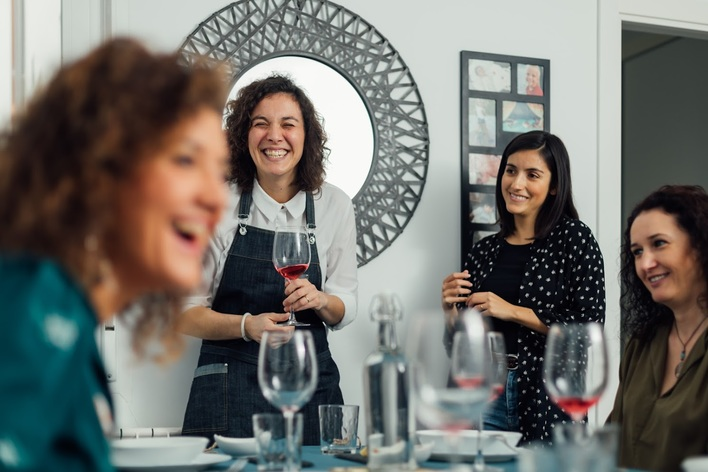 Italian dinner in the heart of madrid