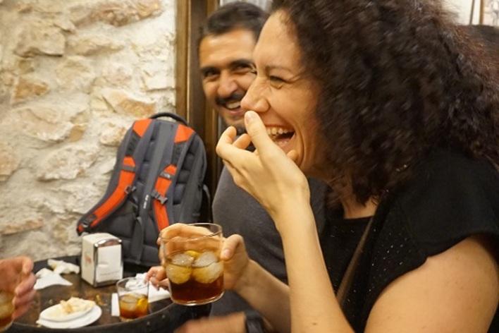 Malaga traditional wine and tapas tour