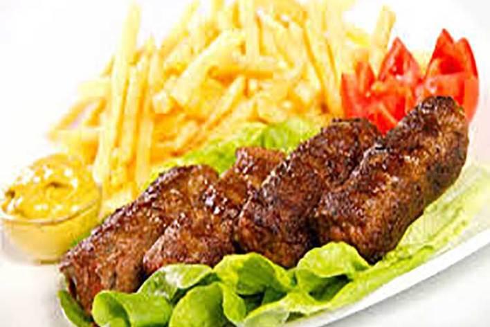 Menu spécial fêtes (viande + légumes)