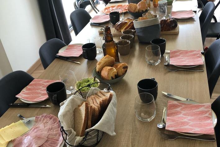 Déjeuner en toute simplicité