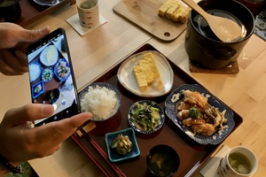 Eat with locals: Traditionnel japanese cuisine in old-town