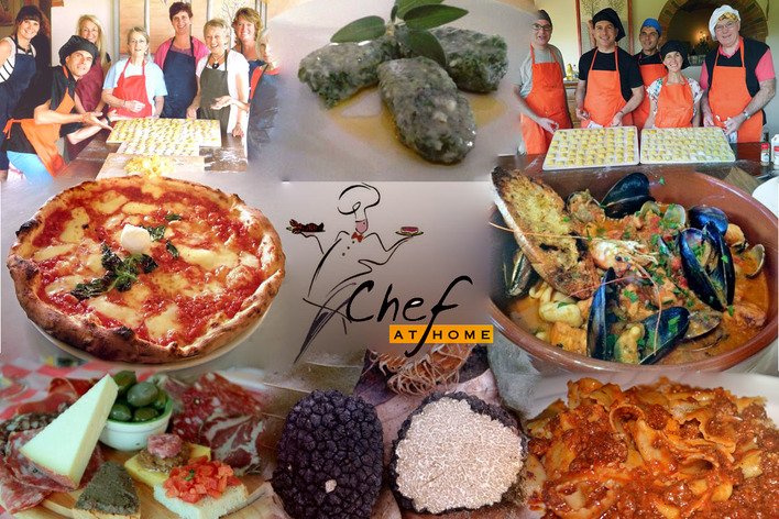 Cook with a chef in tuscany