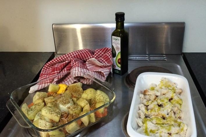 The traditional australian roast