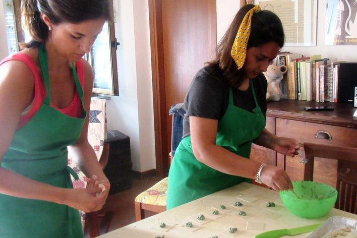 Cours de cuisine ligurienne