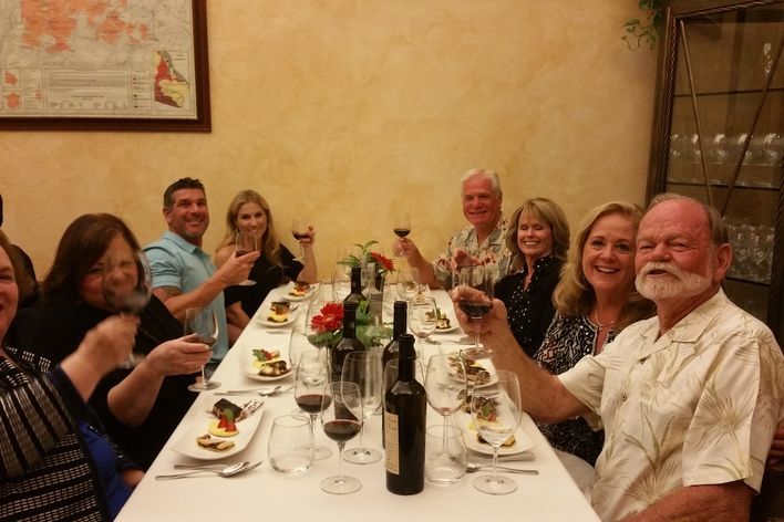 Cellar experience: wine tasting and pairing dinner near the pantheon