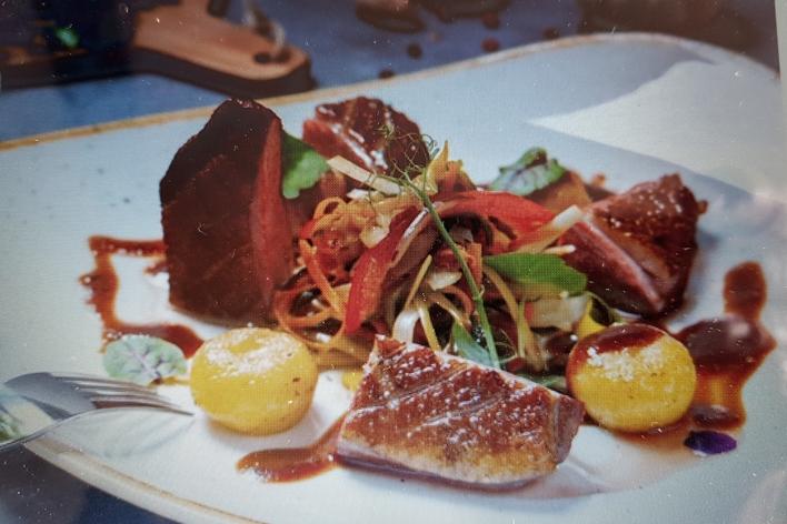 Cuisine gastronomique, table d hôtes