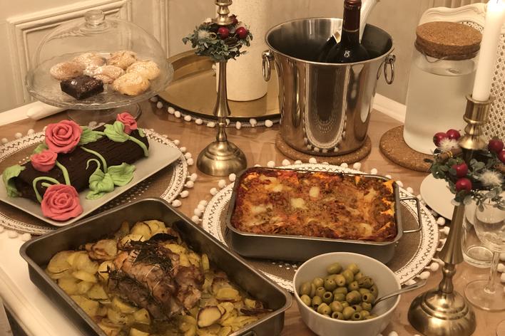 Déjeuner italien chez les artistes à montmartre