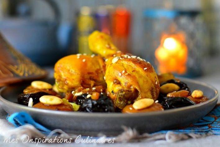 Tagine poulet façon sud du maroc