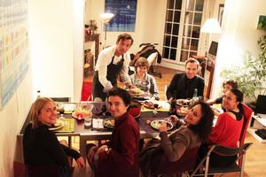 Eat with locals: Un repas bien français