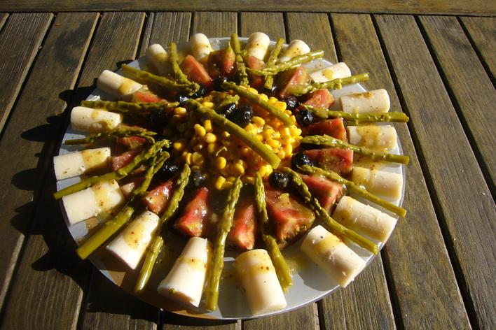 Déjeuner ou dîner méditerranéen à la ferme