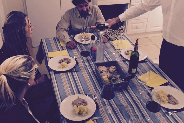 Le diner du lundi avec chasseur de vins