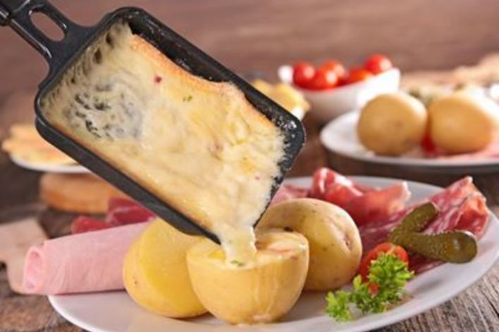 Raclette a nice