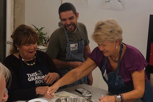 Eat with locals: Private market & hands-on cooking class with a local grandma