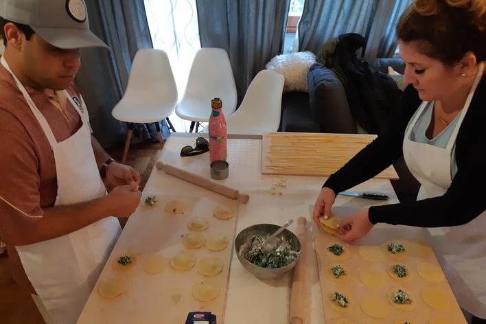 Cooking class la pasta