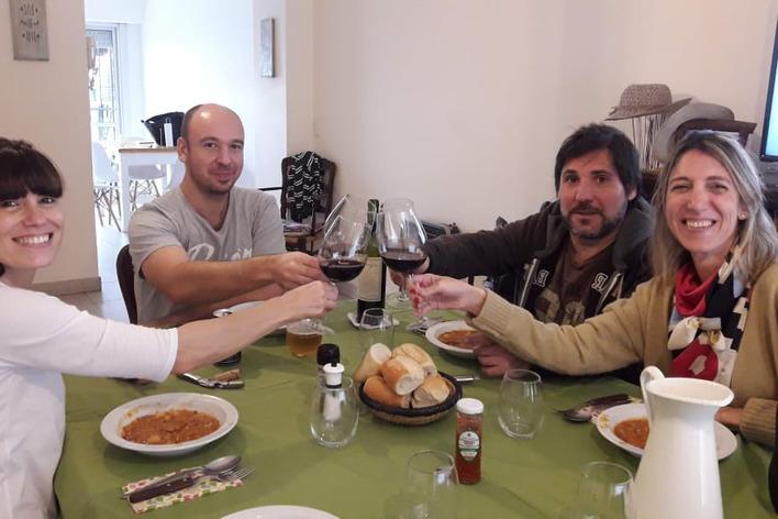 Lentejas a la criolla!!! classic lent´s stew