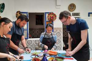 Eat with locals: Moroccan cooking class like a local with chef khmisa