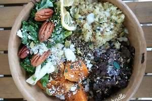 Cenas particulares como en su propia casa: Repas surprise avec produits bio et frais: vegan et sans gluten