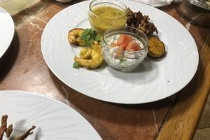 Cenas particulares como en su propia casa: Repas indien par kesaram
