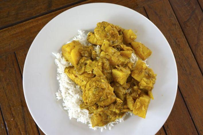 Diner creole/antillais