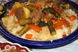 Eat with locals: Couscous royal