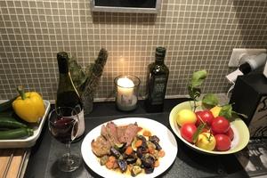Eat with locals: Diner gourmet franco-argentin avec découverte tango et chant