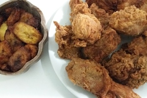 Eat with locals: Chicken fried ou poulet frit