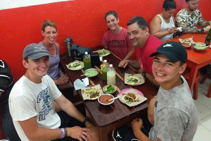 Authentic mexican walking food tour