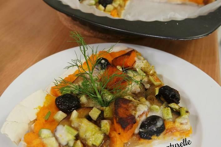 Repas surprise avec produits bio et frais: vegan et sans gluten