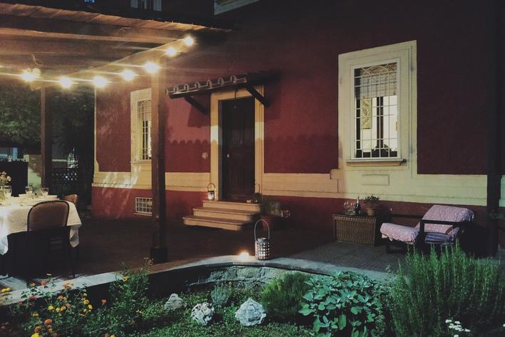Silk garden supper club