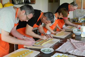 Eat with locals: Cook with a chef in tuscany