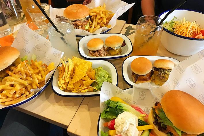 American dinner