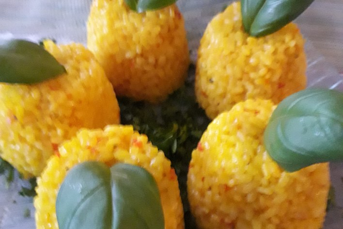 Traditional balkan dinner in prague