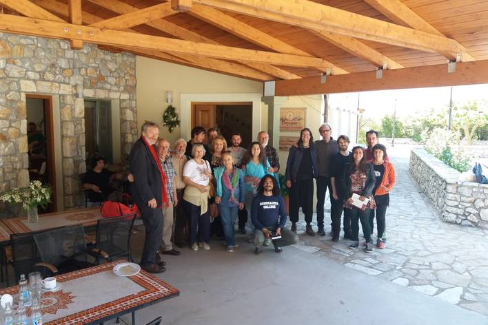 Greek cooking class and local lunch in an eco farm in arkadia, greece!