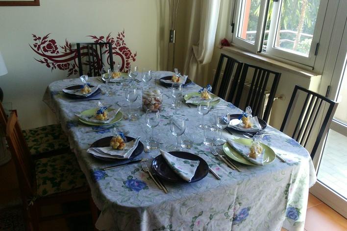 4-courses traditional italian cuisine dinner