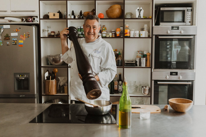 Cook with a french chef