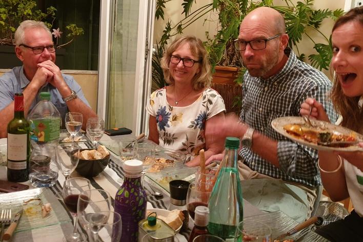 Diner français à la niçoise